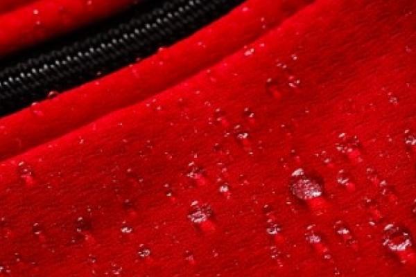 Material DOWE Sportswear - Wasserperlen