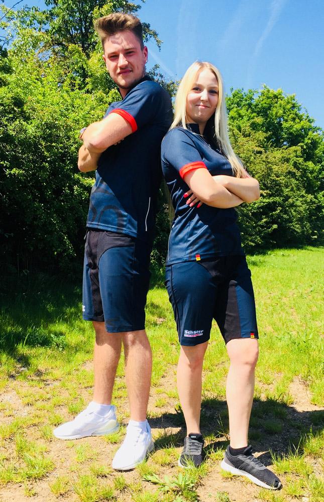 Bike-Shirt für MTB- & Freizeitradler - Athlete-Duo