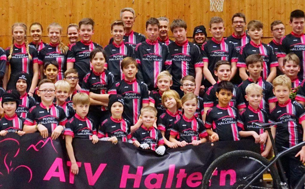 Großer Sportverein - Teambild vom ATV Haltern