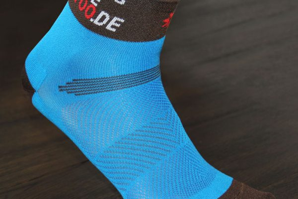 Cycling Sock Dowe Blue