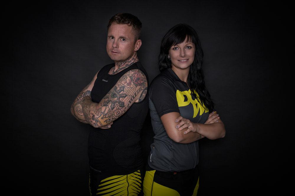 UltraCyclist Franz Preihs im DOWE UltraSeries Underwear-Tanktop mit Kumpanin