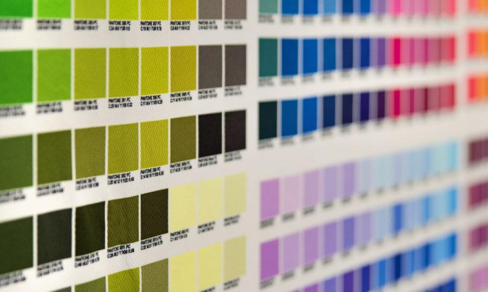 Druckfarben Vielfalt