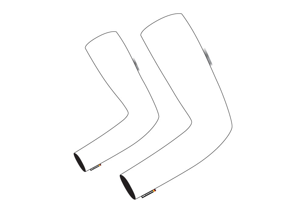 Arm Warmers sectional view