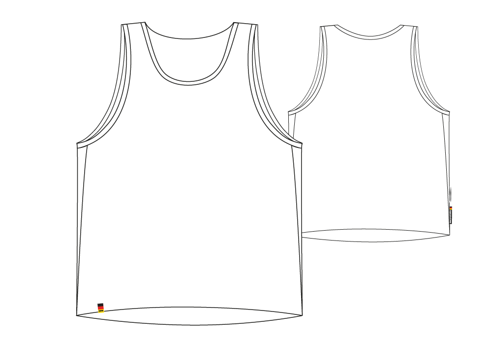 Marathon Shirt sectional view