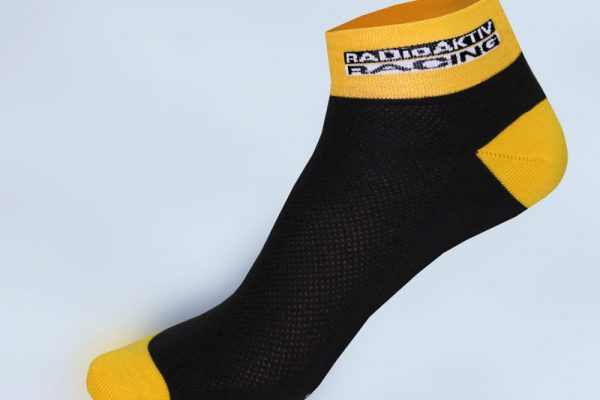 Cycling Sock Dowe Yellow Black