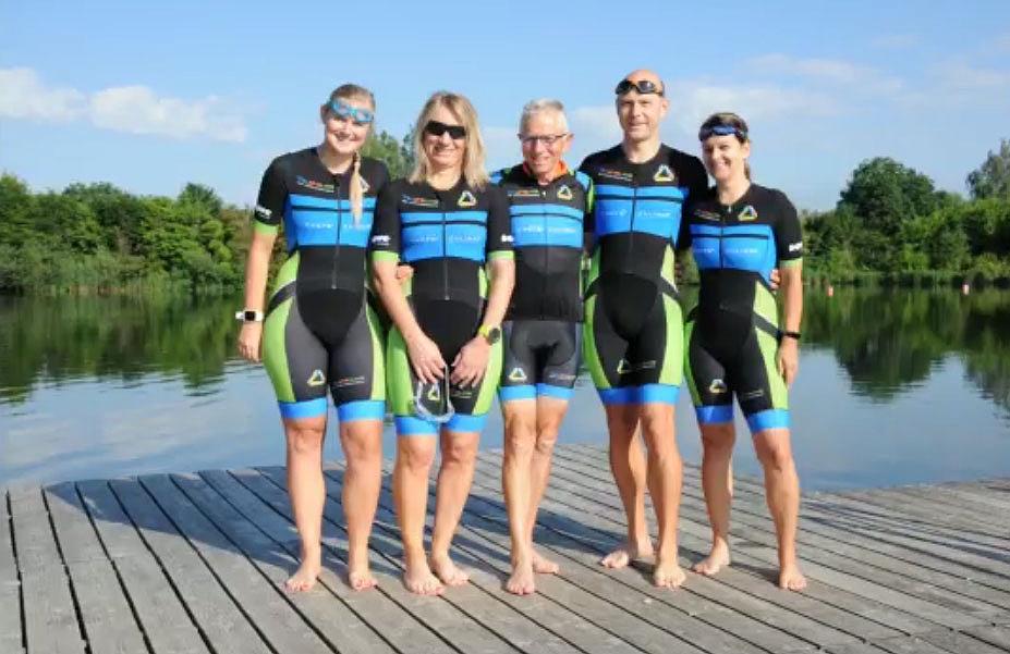 Triathlon team