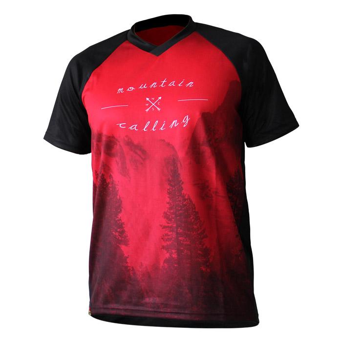 "DOWE Sportswear MTB/Enduro Shirt Kurzarm ""Mountain Calling"""