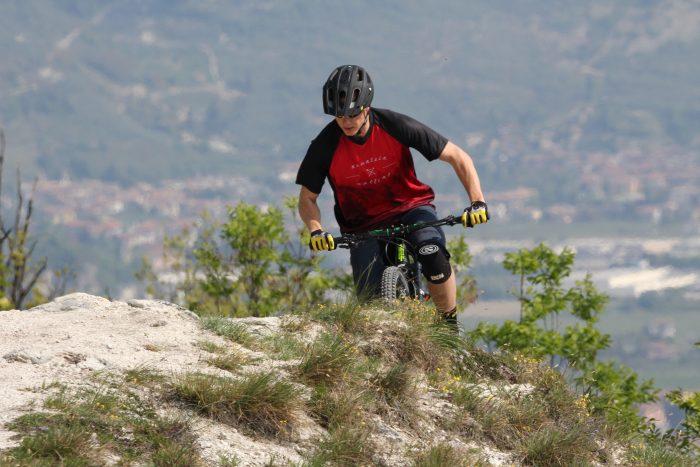 "MTB / Enduro Short-Sleeve Jersey ""Mountain Calling"""