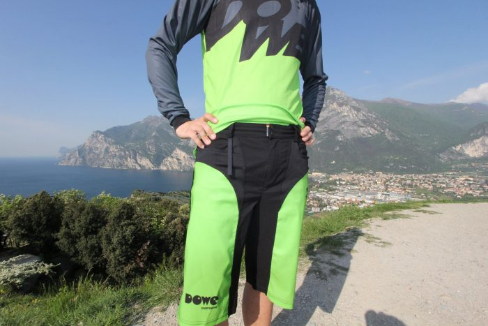 "MTB / Enduro Long-Sleeve Jersey ""Laser"" front side"