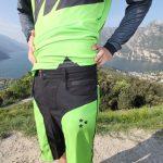 """MTB / Enduro Long-Sleeve Jersey """"Laser"""" - Model near Lake Garda"""