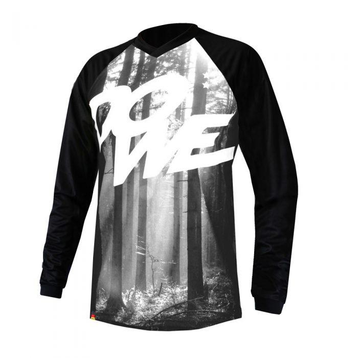 "MTB/Enduro Shirt Langarm ""Black Forest"""