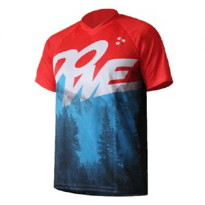 "MTB/Enduro Shirt Kurzarm ""Blue Mountain"""