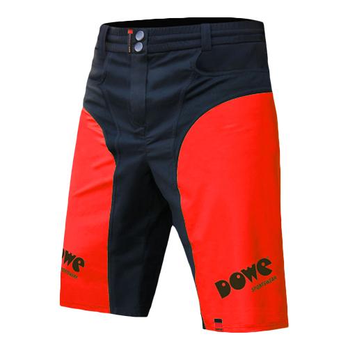 "DOWE Sportswear Race/Allround Bikeshort ""Passion Red"""