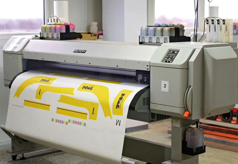 Maschine bei DOWE - Produktion