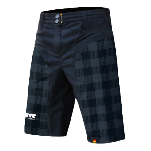 "Race/Allround-Bikeshort ""Black Checkered"""