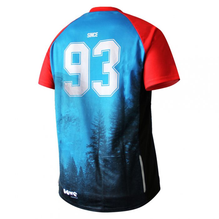 Kurzarm Jersey Blue Mountain