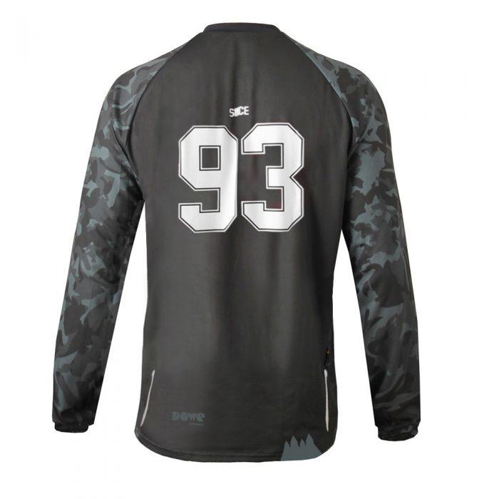 "MTB / Enduro Long-Sleeve Jersey ""Rocker"" - back side"