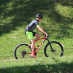 "DOWE Sportswear Carbon Pro Radtrikot ""Lime"" Outdoor-Radler"