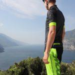 "DOWE Sportswear Carbon Pro Radtrikot ""Lime"" Seite"