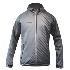 "Dowe Active Jacket ""Grey Stripes"""