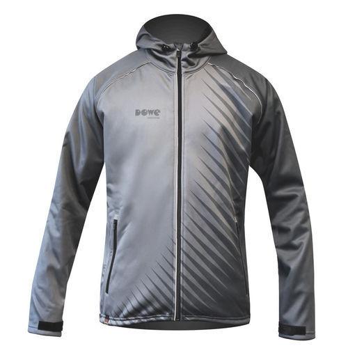 "Dowe Active Jacket ""Grey Stripes"""