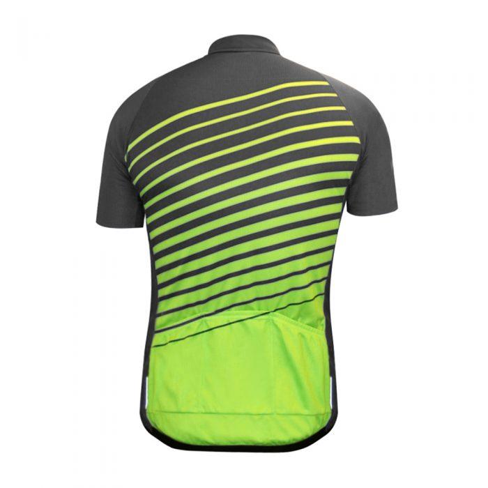 "DOWE Sportswear Carbon Radtrikot ""Hornet"" Rücken"