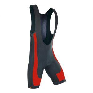 Dowe Sportswear Trägerhose Ultra II Red Front