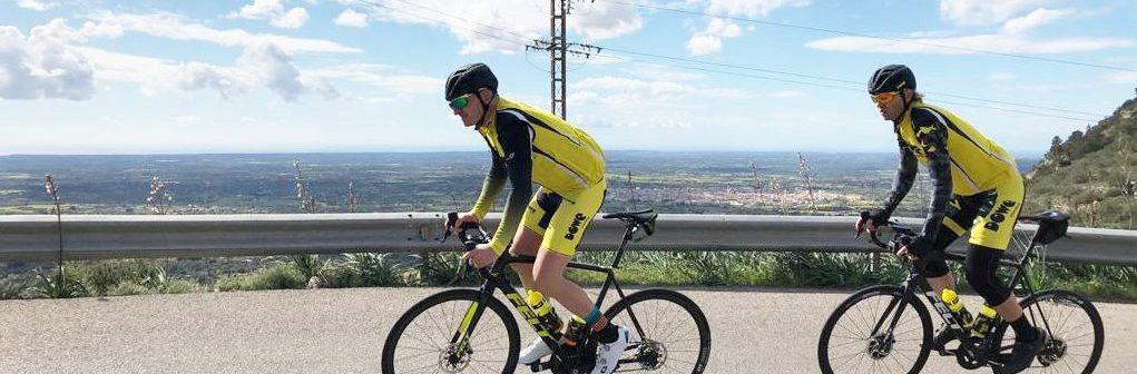 Team DOWE im Trainingscamp auf Mallorca
