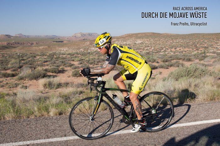 DOWE Sportswear beim Race Across America 2015 mit Ultracyclist Franz Preihs