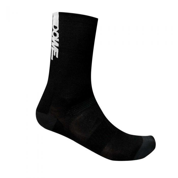 DOWE Sportswear schwarze Radsport-Socken