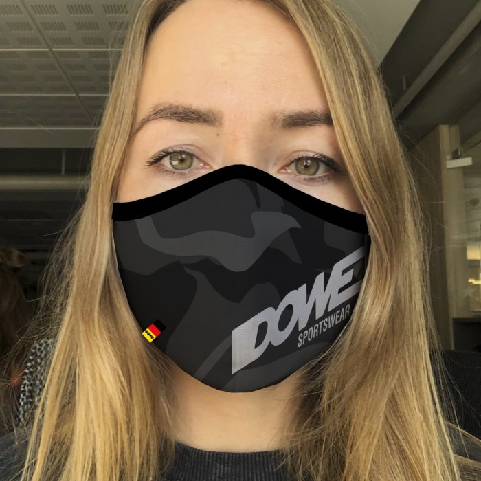 Dowe Sportswear Mundschutz Black Camo