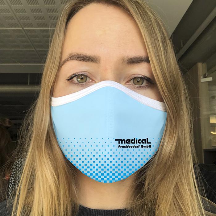 """Dowe Sportswear Community Mask """"Medical Praxisbedarf"""""""