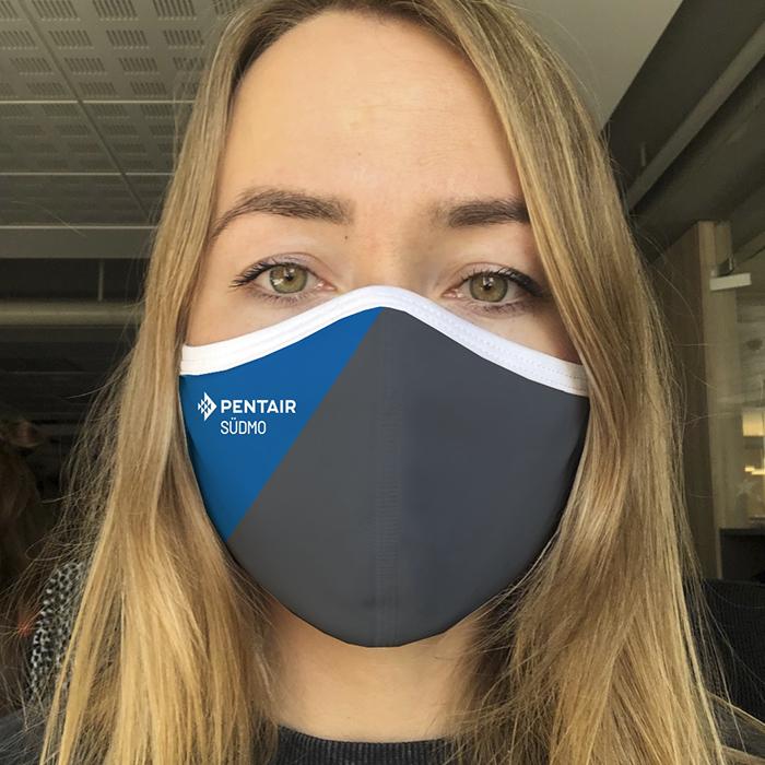 """Dowe Sportswear Community Mask """"Pentair Südmo"""""""