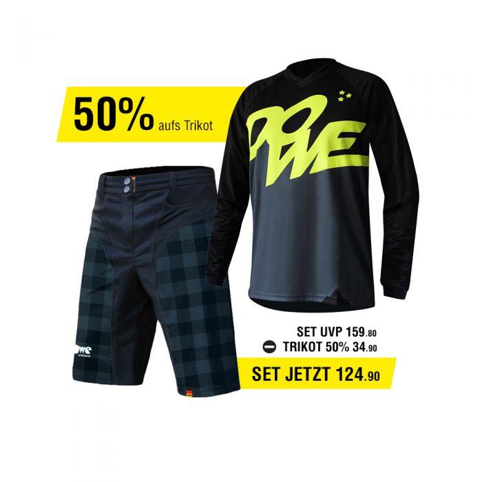 DOWE Enduro Set - Short und Jersey für 124,40 Euro