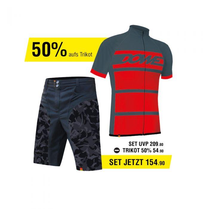 DOWE Race Set - Short und Jersey für 154,90 Euro