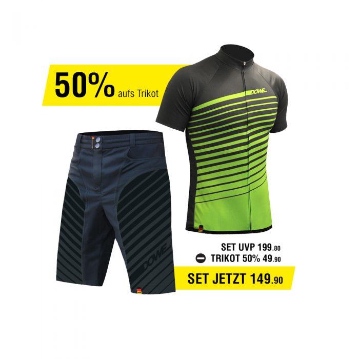 DOWE Race Set - Short und Jersey für 149,90 Euro