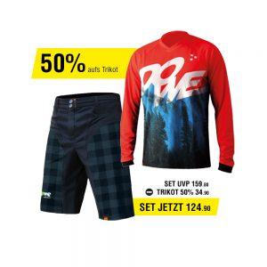 Dowe MTB/Enduro Set - Trikot und Hose - Angebot für 124,90 Euro