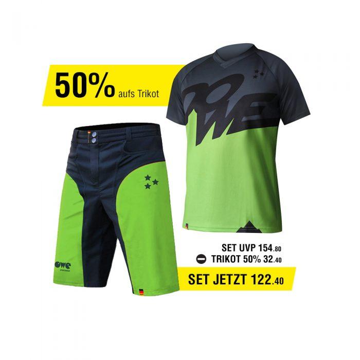 Dowe MTB/Enduro Set - Trikot und Hose - Angebot für 122,90 Euro