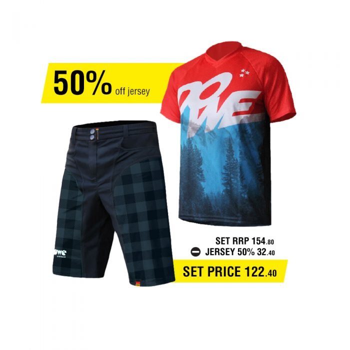 Dowe MTB/Enduro Set - Jersey and Short - Offer for EUR 122,90