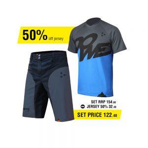 DOWE Enduro Set - Short und Jersey für 122,40 Euro