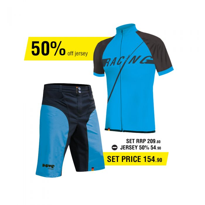 Dowe Race Set - Jersey and short - Offer for EUR 154,90