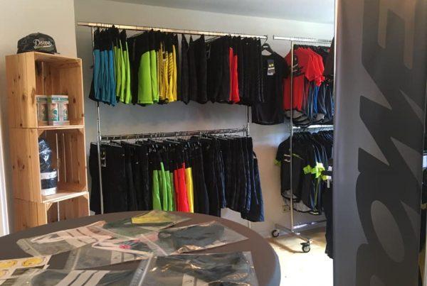 Dowe Sportswear Outlet in Lauchheim, Erzgebirgstraße