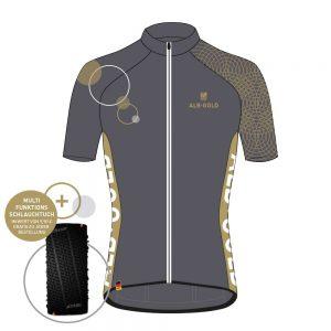 Albgold-Trophy Trikot plus gratis Multifunktions-Schlauchtuch von DOWE Sportswear