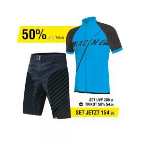 DOWE Sportswear Angebots-Set blau