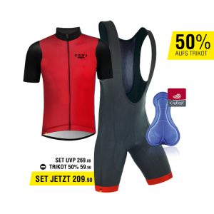 DOWE Sportswear Angebots-Set rot