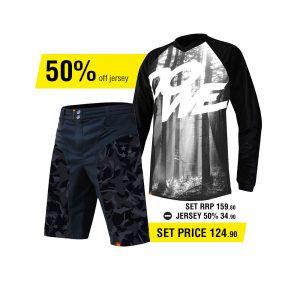 Dowe Sportswear Enduro Set - Short & Jersey