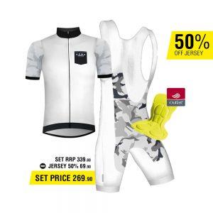 Dowe Road Bike Set - Bib Short und Trikot - für 269,90 Euro