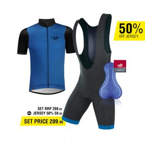 DOWE Sportswear Road Bike Set Ultra I blue