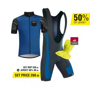 DOWE Road Bike Set - Bib short and Jersey for EUR 269,90