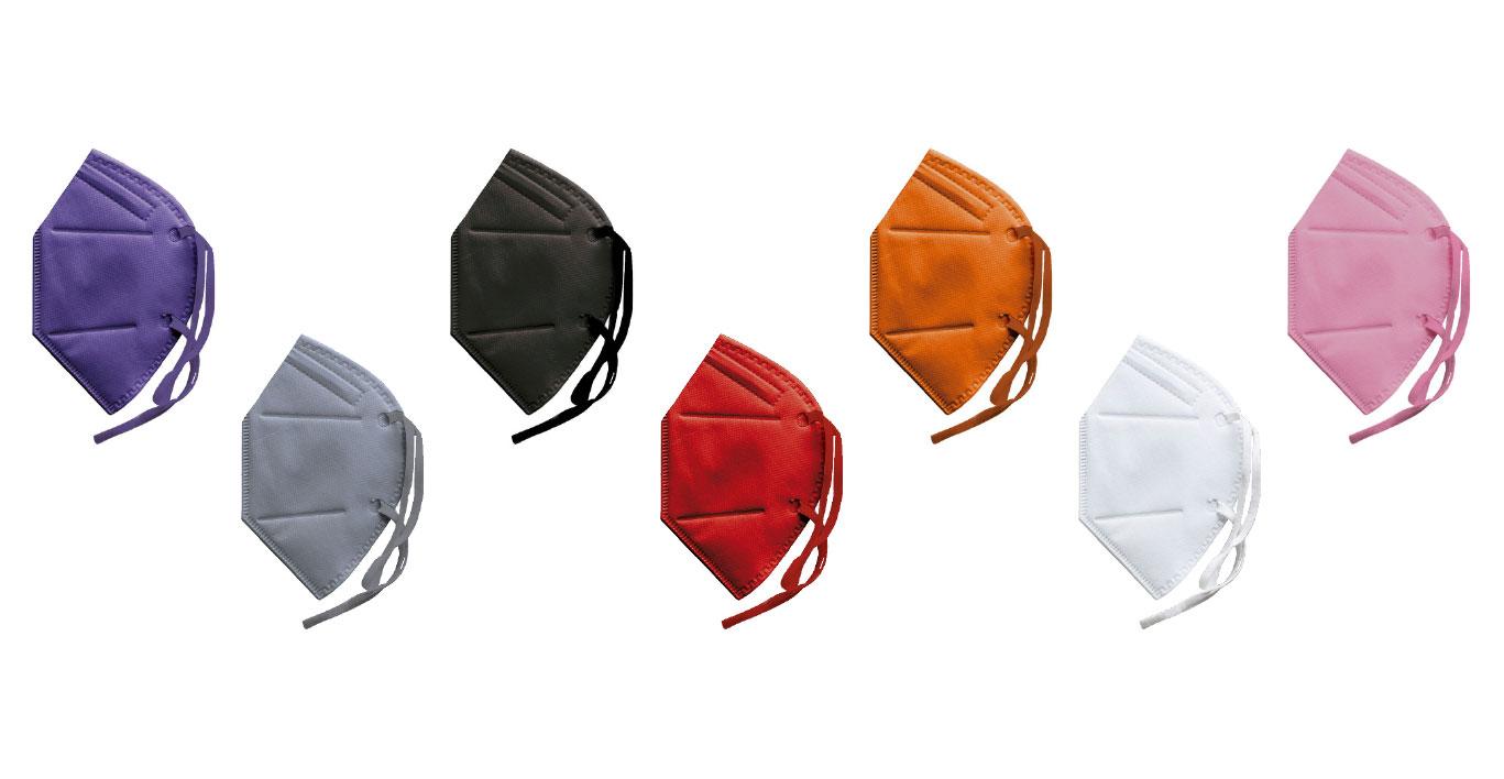 7 Masken Farben